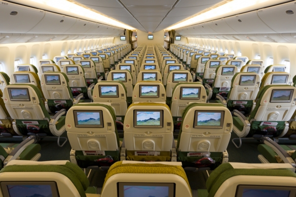Exclusive Look On Board Ethiopian Airlines First Boeing