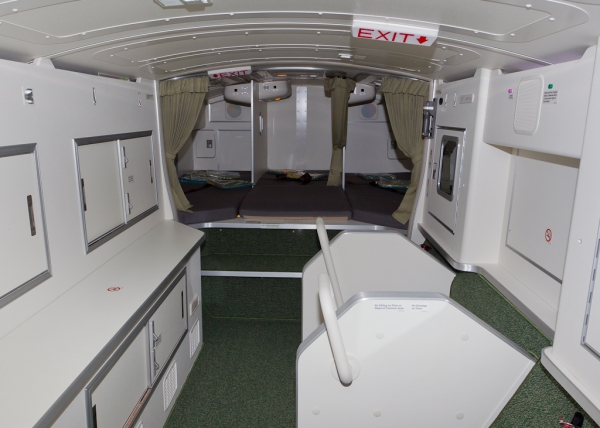 Flight attendant rest cabin