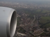 Final approach to London.