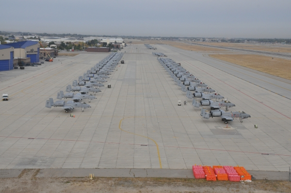 Photo courtesy of the 124th Fighter Wing