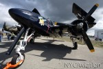 Bad Kitty, HFF's Tigercat, at rest outside the hangar during a busy day.