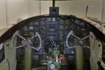 The cockpit of Grumpy the B-25.