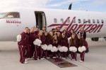 University of Montana cheerleaders