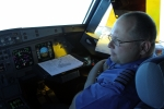 First Officer Bob as we cruise to KOSH.