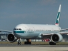 Cathay Pacific taxis to runway 31L