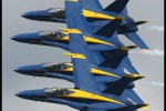 US Navy Blue Angels in formation. (Photo by Scott Snorteland, srsimages.com)