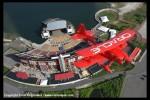 Sean Tucker flies over the Jones Beach Theater. (Photo by Scott Snorteland, srsimages.com)
