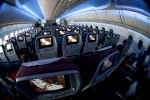 LAN Boeing 787 Economy class IFE. (Photo by Dan King/NYCAviation)