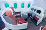 LAN Boeing 787 Premium Business Class. (Photo by Dan King/NYCAviation)