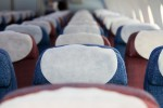 Economy class seats aboard LAN's first Boeing 787-8 Dreamliner. (Photo by Dan King/NYCAviation)