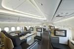 Lufthansa 747-8I interior. (Photo by Boeing)