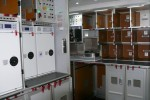 Galley on Lufthansa Boeing 747-8I. (Photo by Chris Sloan/Airchive.com)