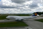 First Lufthansa 747-8I prepares for delivery flight to Frankfurt. (Photo by Chris Sloan/Airchive.com)