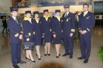 Lufthansa crew. (Photo by Chris Sloan/Airchive.com)