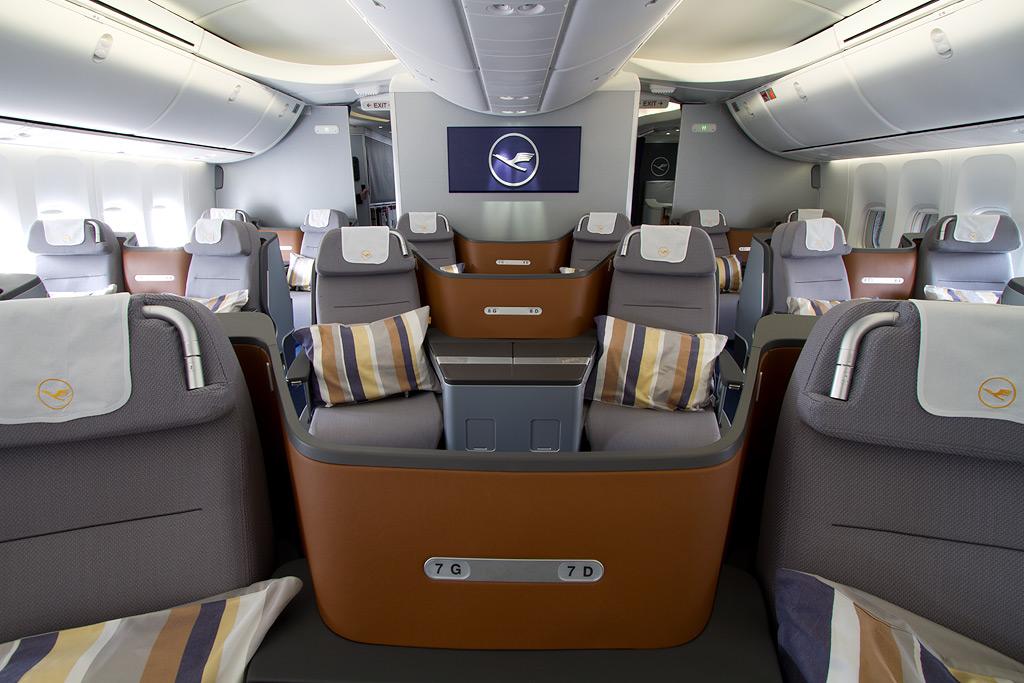 Photos Lufthansa 747 8 Intercontinental Inaugural Flight