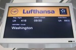 Lufthansa 747-8 inaugural monitor at Frankfurt. (Photo by Chris Sloan/Airchive.com)