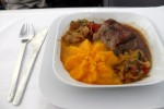 Business Class lunch. (Photo by Chris Sloan/Airchive.com)