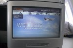 Lufthansa Media World welcome screen. (Photo by Chris Sloan/Airchive.com)