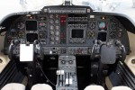 Cockpit of the Piaggio P.180 Avanti.