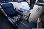 Business Class seat aboard ANA 787 Dreamliner. (Photo by David Lilienthal/NYCAviation)