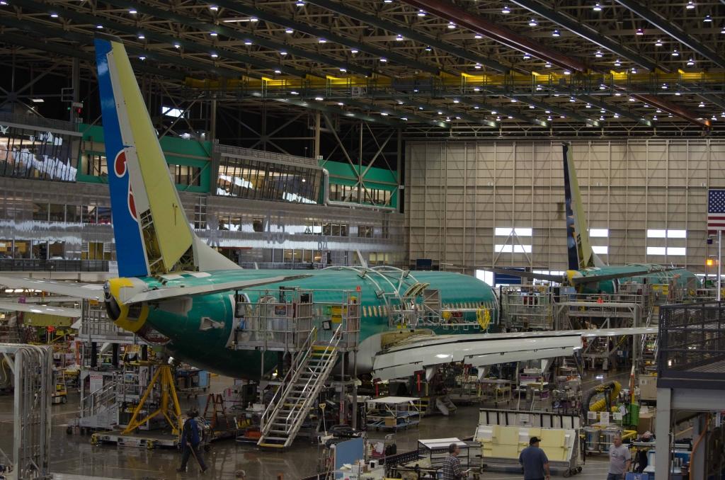 Photos Boeing Renton 737 Factory Tour