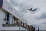 Airbus A380 flight demo. (Photo by Airbus)