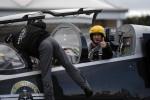 Breitling Jet Team media flight. (Photo by Farnborough International)