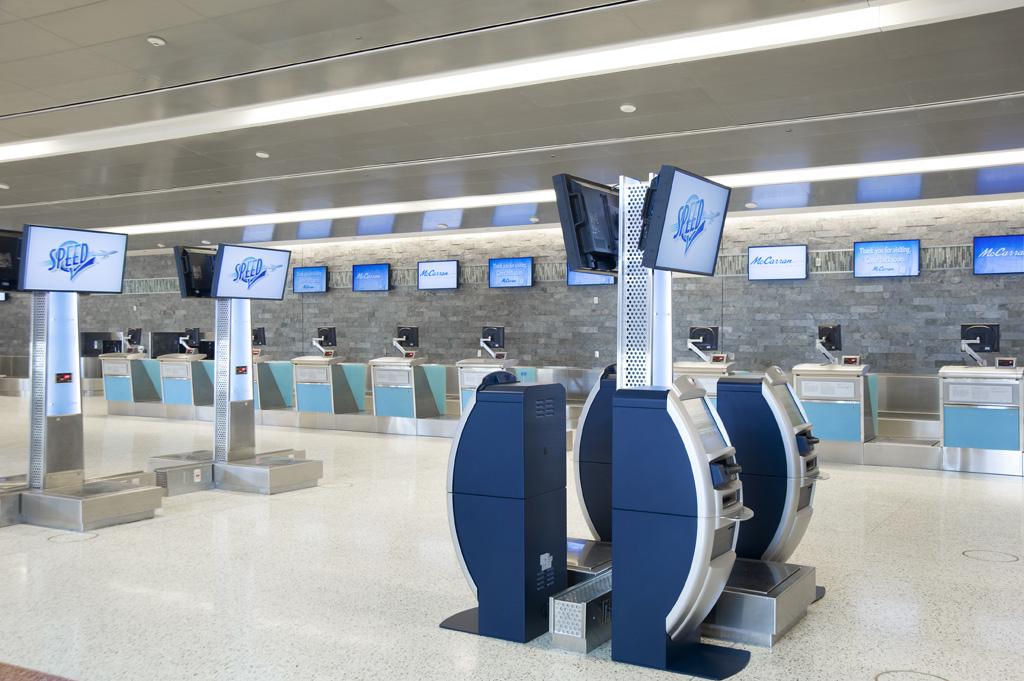 Photos Inside The New Terminal 3 At Mccarran Las Vegas