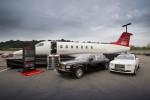 Learjet 85 mockup.