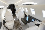 Interior of the new Learjet 85.