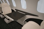 Learjet 85 personal table.