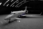 The new Learjet 85.