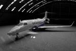 The new Learjet 85.