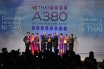 "THAI joins the ""elite club"" of A380 airlines. (Photo by P. Masclet/Airbus)"