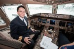 Captain Ed poses in his office. (Photo by Liem Bahneman/NYCAviation)