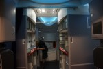 United 787 Dreamliner entry galley. (Photo by Chris Sloan-Airchive.com)