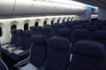 United Boeing 787 Dreamliner Economy Plus cabin. (Photo by Chris Sloan-Airchive.com)