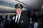 United Boeing 787 Dreamliner Captain Cliff Pittmann. (Photo by Chris Sloan-Airchive.com)