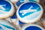 United Airlines 787 cookies. (Photo by Kevin Koske)