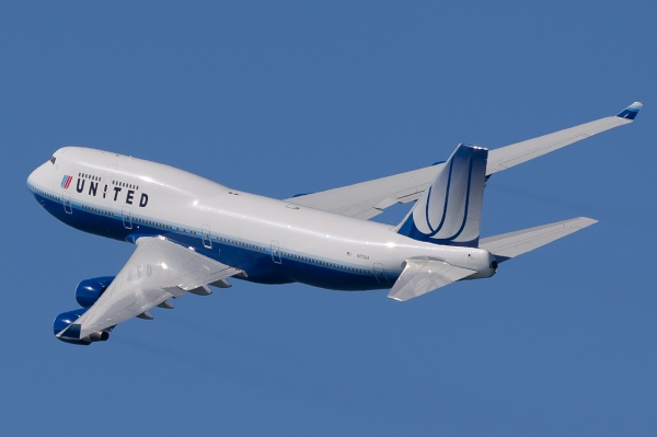 United Airlines 747-400