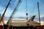 Space Shuttle Enterprise at dawn. (Photo by Guy Dickinson, CC BY-SA)