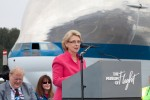 Washington Governor Chris Gregoire. (Photo by Liem Bahneman/NYCAviation)