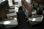 Comfort Class seats. (Photo courtesy of Turkish Airlines)