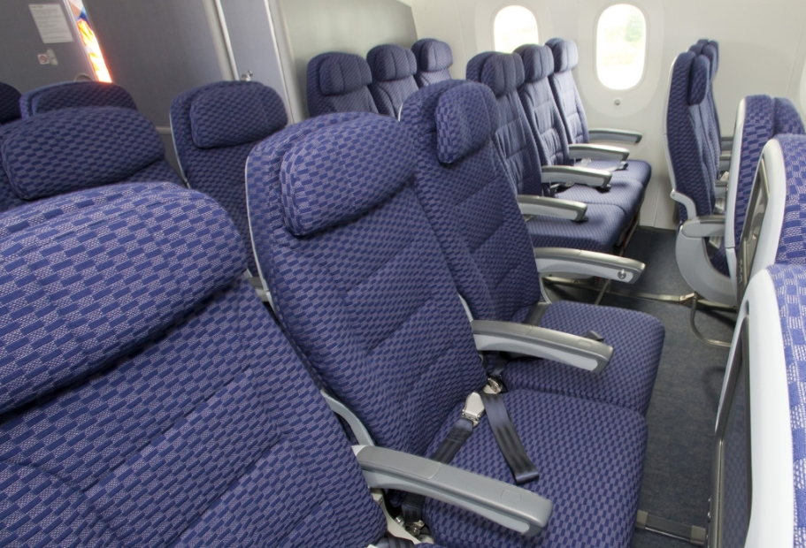 United Airlines Boeing 787 Dreamliner Economy Class Seats Photo By Dan King NYCAviation