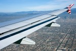 Aboard N624VA on approach to LAX. (Photo by Eric Dunetz)