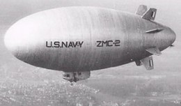 U.S. Navy&#039;s ZMC-2 metal skinned airship.