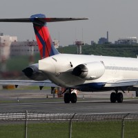 A Delta MD-80 jet. (Photo by Phil Derner Jr.)