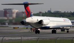 A Delta MD-80 jet. (Photo by Phil Derner Jr.)