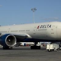 Delta 777-200LR N702DN (Photo by Mark Lawrence)