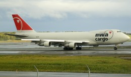 Only four more days remain to see Northwest Cargo 747-200F's. (Photo by Mark Lawrence)